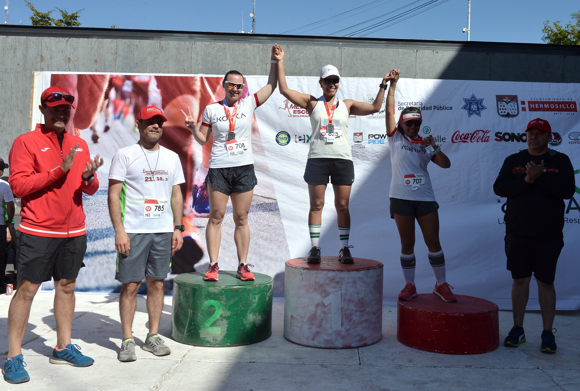 Resultado de imagen para Celebra SSP Medio Maratón Escudo Ciudadano
