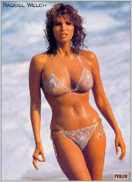 Raquel Welch, sigue siendo bella